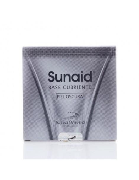 Sunaid Base Cubierta piel Oscura (NOVADERMA)