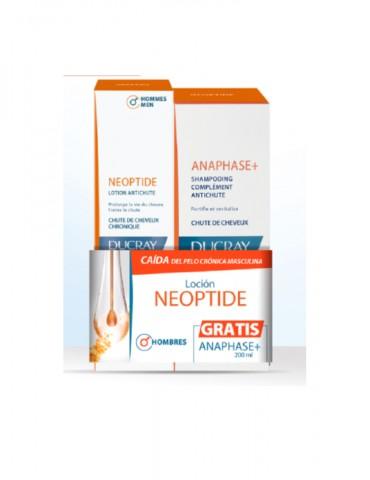 Kit Neoptide Hombre + Anaphase Shampo (Ducray)