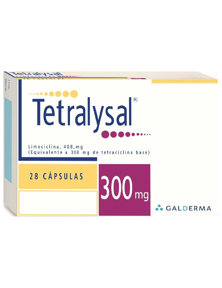 Tetralysal 300MG 28 Cap (GALDERMA)