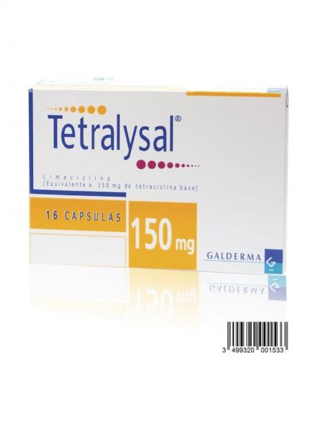 Tetralysal 150MG 16Cap (GALDERMA)