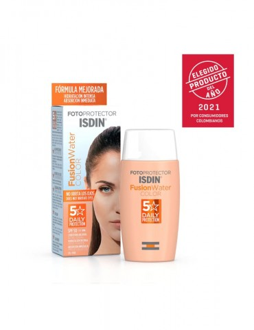 Fotoprotector Fusion Water Color SPF 50 x 50 ml (ISDIN)