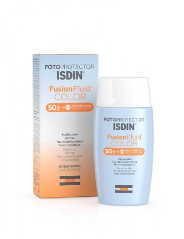 Fotoprotector Fusión Fluid Color (ISDIN)