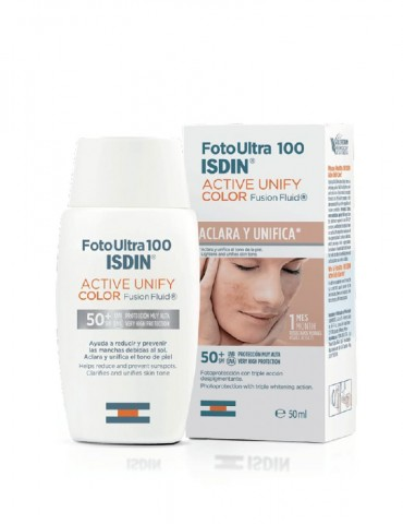 Foto Ultra Active Unify 100+ Fusion Fluid Color (ISDIN)