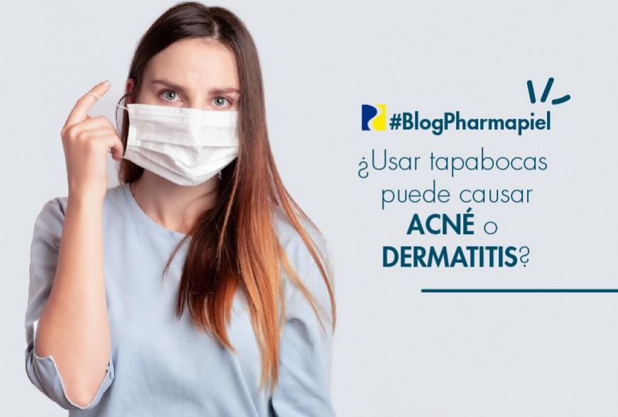 ¿El uso de tapabocas puede causar acné o dermatitis?